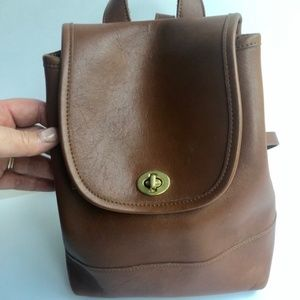 Vintage Coach Small Backpack